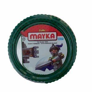 Mayka Toy Construction Tape Green-LEGO, MEGABLOCKS